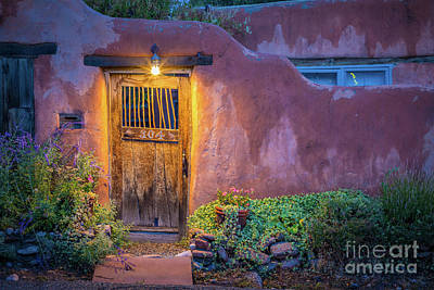 Photograph - Twilight Santa Fe by Inge Johnsson