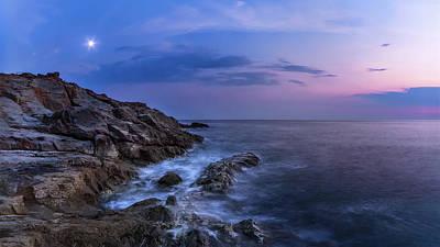 Twilight Sea Art Print