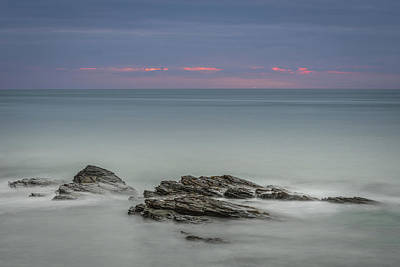 Photograph - Twilight Seascape by Andy Astbury