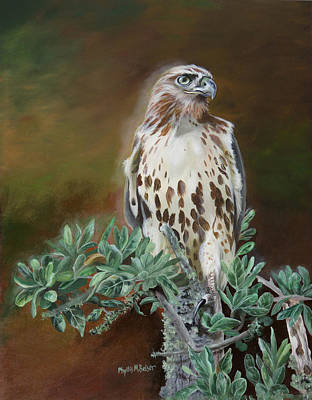 Painting - Twilight Sentinel by Phyllis Beiser