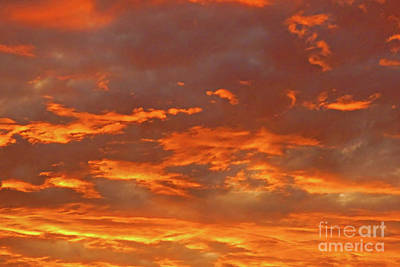 Photograph - Twilight Sky by Val Miller