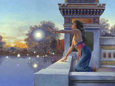 Frazetta Painting - Twilight Summoning by Richard Hescox