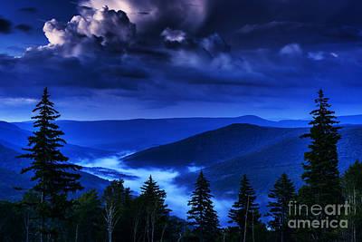 Williams River Photograph - Twilight Thunderhead by Thomas R Fletcher