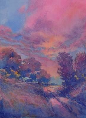 Twilight Time No 2 Art Print by Virgil Carter
