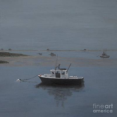 Chatham Harbor Painting - Twilight Tranquility by Michelle Welles