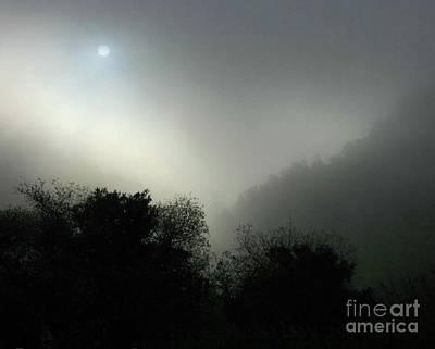 Twilight Valley Of The Moon California Art Print by Gus McCrea