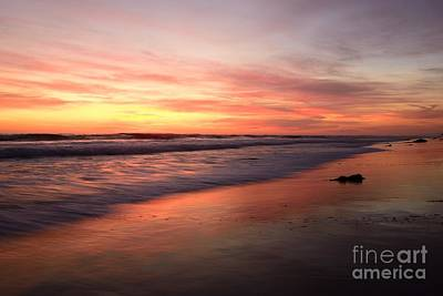 Photograph -  Encinitas Waves by John F Tsumas