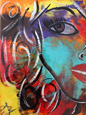 Painting - Twin 1 by Artista Elisabet
