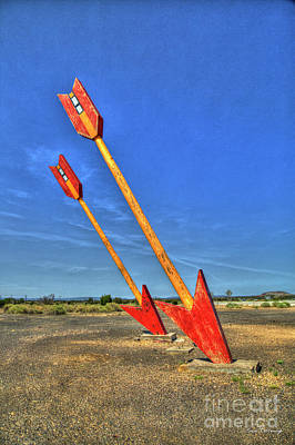 Photograph - Twin Arrows 2 Ghost Town Historic U S Route 66 Arizona Trading Post Art by Reid Callaway