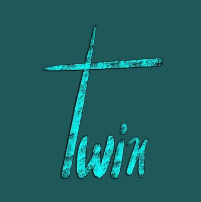 Drawing - Twin by Bill Owen