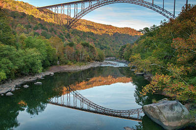 Photograph - Twin Bridges by Steve Stuller