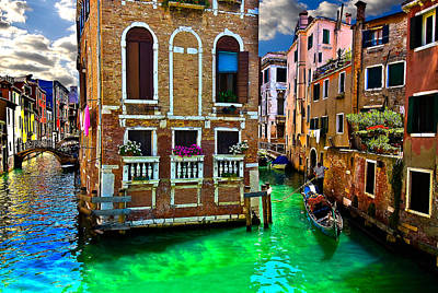 Photograph - Twin Canals by Harry Spitz