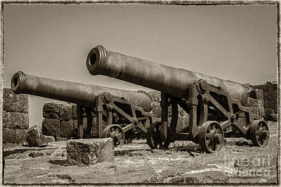 Photograph - Twin Cannon by Hitendra SINKAR