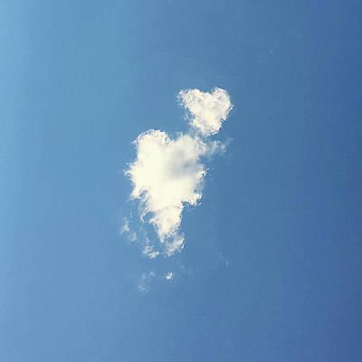 Photograph - Twin Clouds by Jennifer Karon
