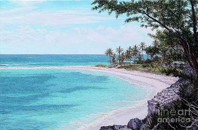 Painting - Twin Cove Paradise by Eddie Minnis