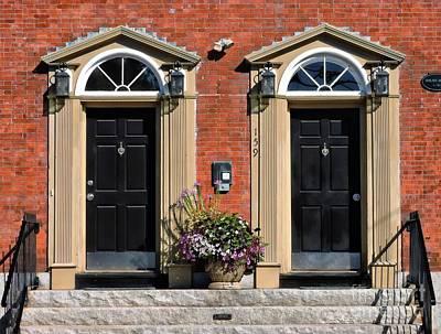 Photograph - Twin Doors by Marcia Lee Jones