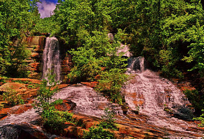 Photograph - Twin Falls 005 by George Bostian