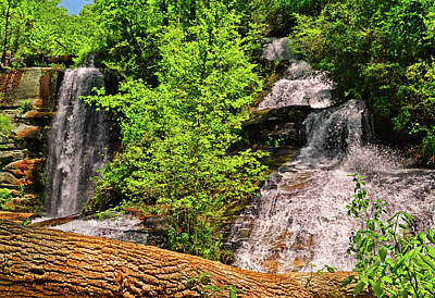 Photograph - Twin Falls 007 by George Bostian