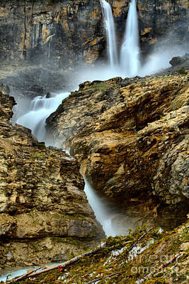 Photograph - Twin Falls At Yoho by Adam Jewell