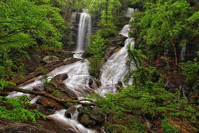 Photograph - Twin Falls by Chris Berrier