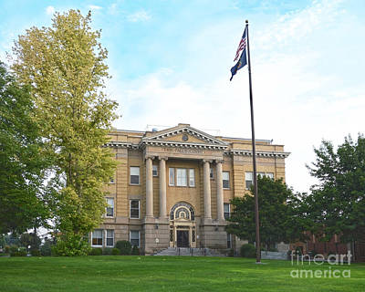 Photograph - Twin Falls, Idaho, Courthouse by Catherine Sherman
