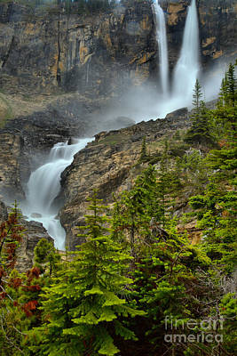 Photograph - Twin Falls Portrait by Adam Jewell