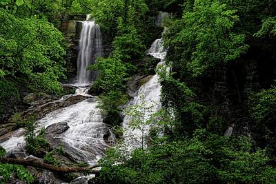 Photograph - Twin Falls South Carolina by Carol Montoya