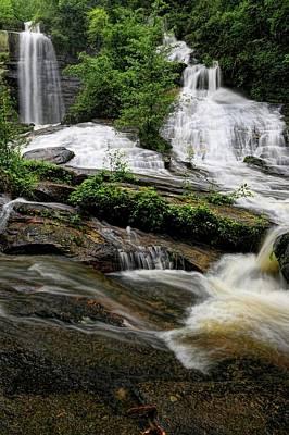 Photograph - Twin Falls South Carolina II by Carol Montoya