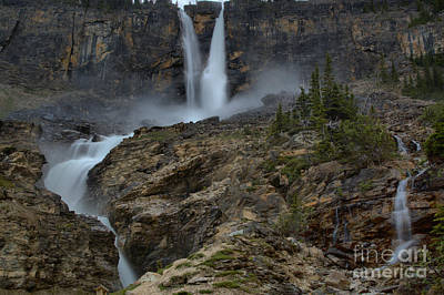 Photograph - Twin Falls Spring Flow by Adam Jewell