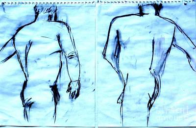 Twin Images Art Print