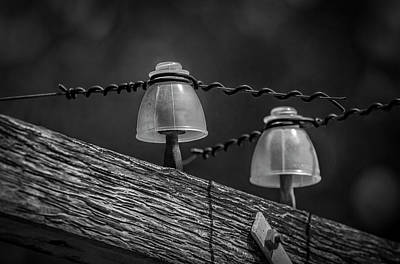 Photograph - Twin Insulators by Ray Congrove