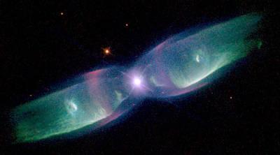 Photograph - Twin Jet Nebula by Steve Kearns
