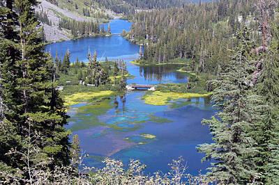 Twin Lakes Eastern Sierra Photography Art Print