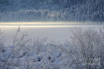 Photograph - Twin Lakes Mist by Idaho Scenic Images Linda Lantzy