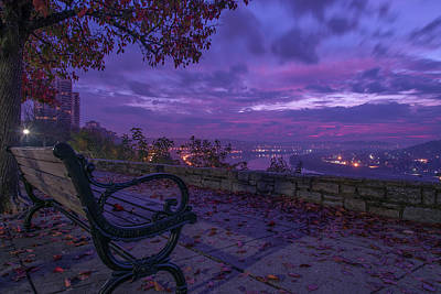 Park Benches Photograph - Twin Lakes Overlook by Brad Monahan