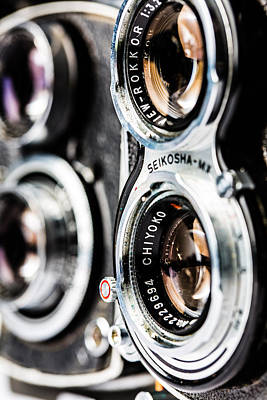 Photograph - Twin Lens Reflex by SR Green