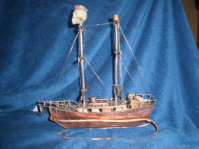 Twin Mast Tall Ship Original