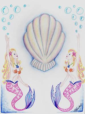 Twin Mermaids Original