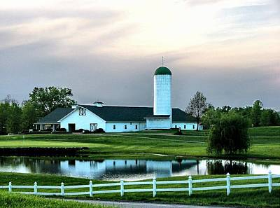 Photograph - Twin Oaks Farm by Julie Dant