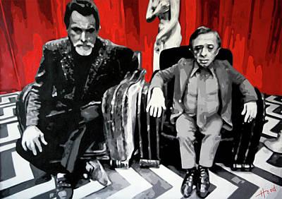 Twin Peaks Black Lodge Art Print