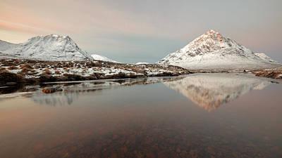 Photograph - Twin Peaks by Grant Glendinning