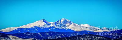Photograph - Twin Peaks Snow by Jon Burch Photography