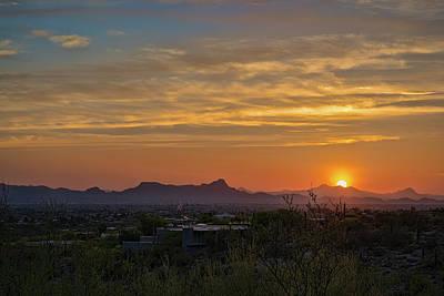 Photograph - Twin Peaks Sunset by Dan McManus