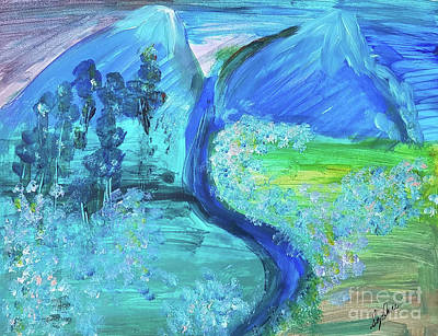 Painting - Twin Peaks by Sydnee