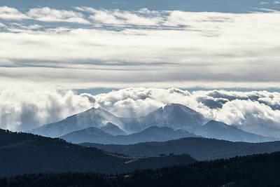 Photograph - Twin Peaks by Tyson Kinnison