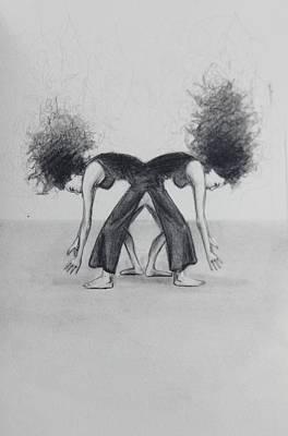 Drawing - Twin Pick by Mays Mayhew