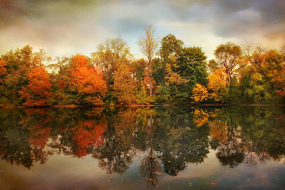 Photograph - Twin Pond Reflections by Jessica Jenney