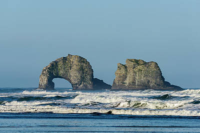 Photograph - Twin Rocks by Robert Potts