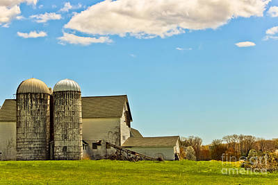 Photograph - Twin Silos by Colleen Kammerer