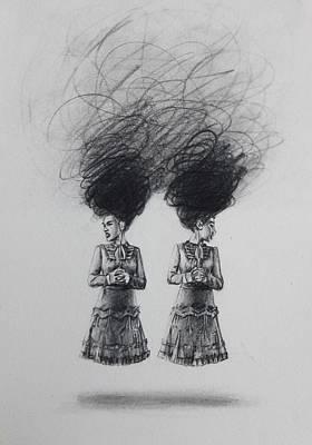 Drawing - Twin Skirt by Mays Mayhew